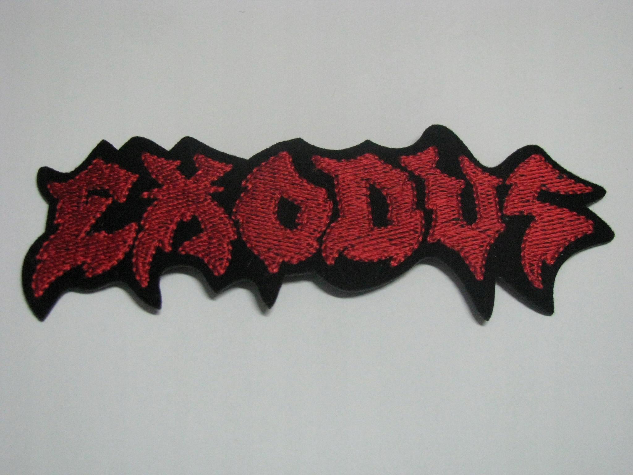 EXODUS thrash metal Naszywka
