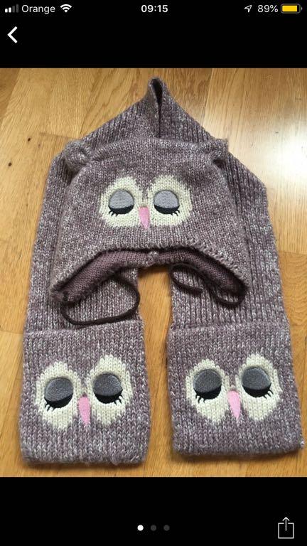Komplet czapka szalik Gerorge 2-6 lat