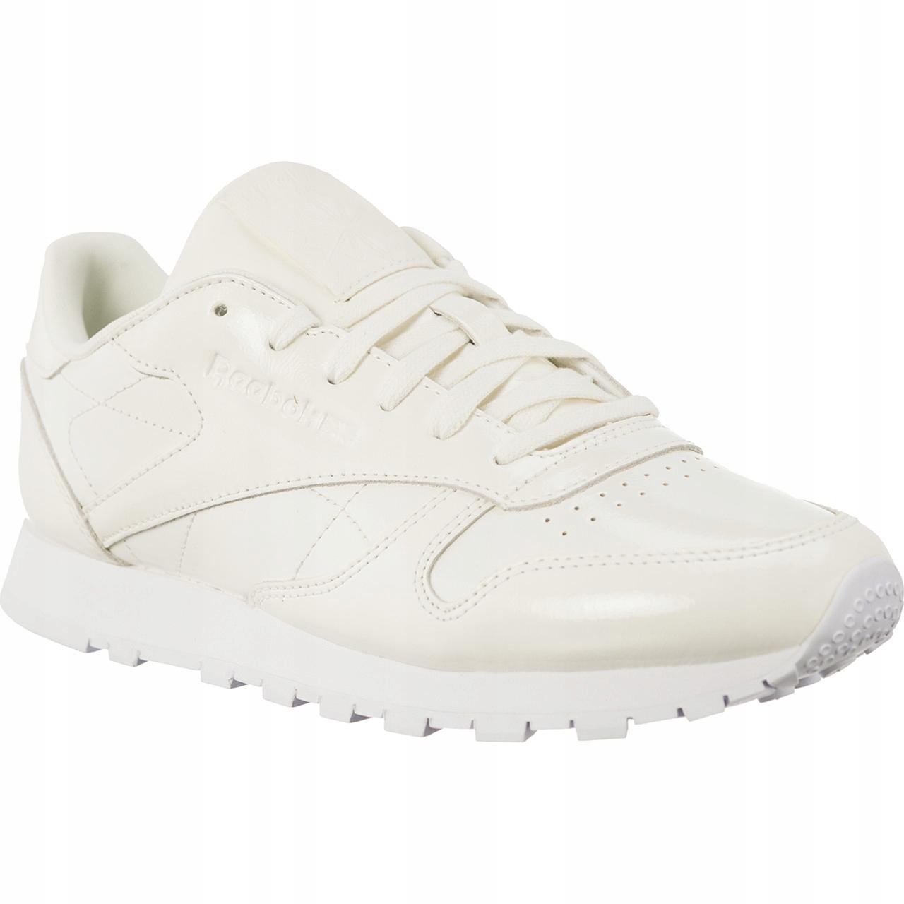 REEBOK CL LTHR PATENT CN077 ~37~ Damskie Sneakersy