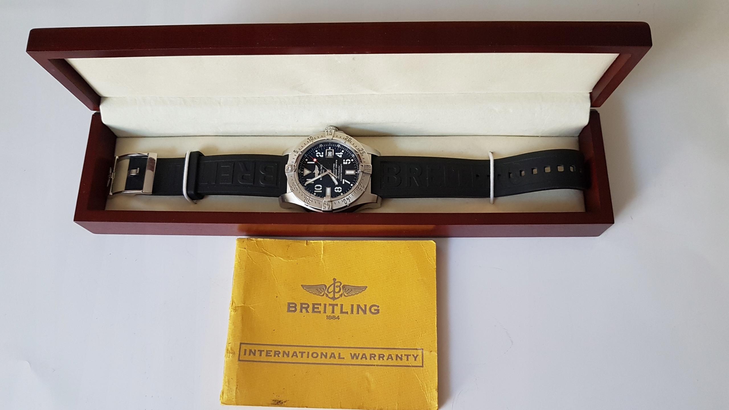 Breitling Avenger Seawolf A17330 - CHRONOMETR