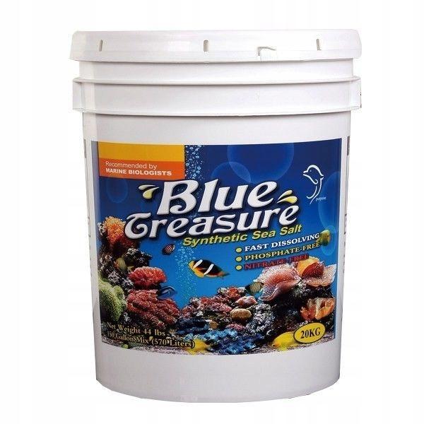 BLUE TREASURE REEF SÓL MORSKA 20KG (3x6,7kg) wiadr