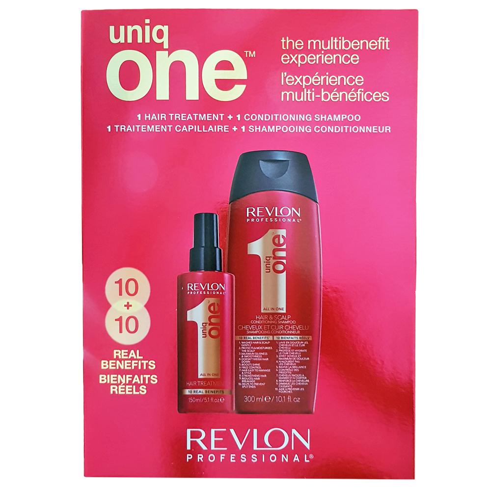 Zestaw Revlon Uniq One szampon i treatment