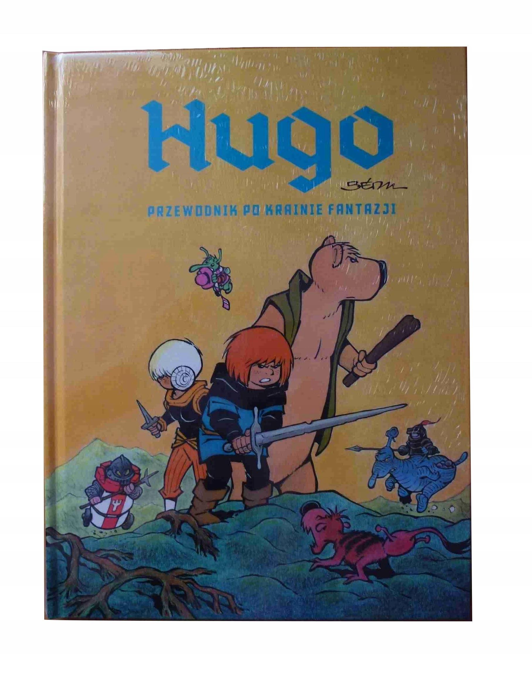 Hugo Przewodnik po krainie fantazji (folia) Bedu