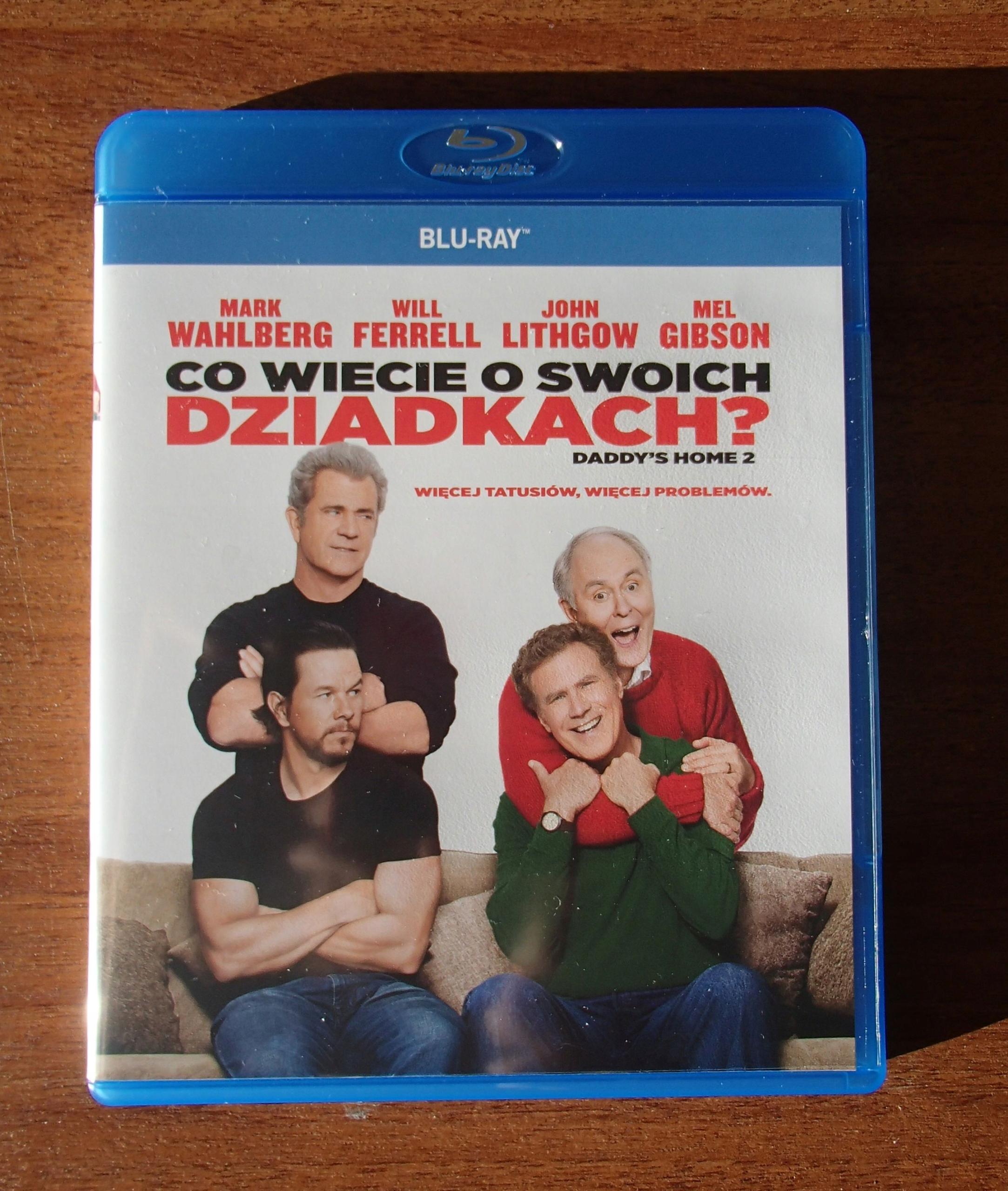 Co wiecie o swoich dziadkach ? Blu-ray Nowy PL