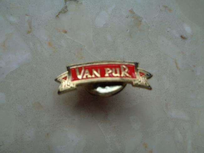 PIN VAN PUR