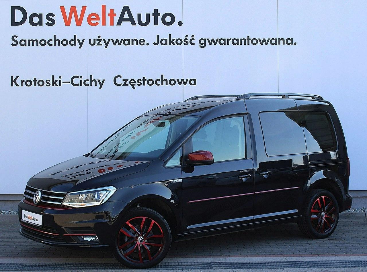 Volkswagen Caddy Highline 2 0 TDI 102 KM 5-G Salon