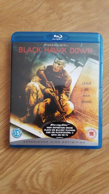 BLACK HAWK DOWN! HELIKOPTER W OGNIU! PL NAPISY