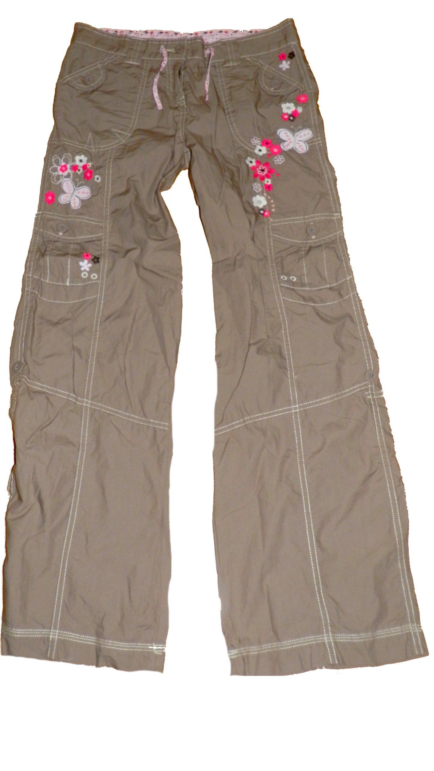 Cherokee spodnie z haftem/ rybaczki 12/13 158/164