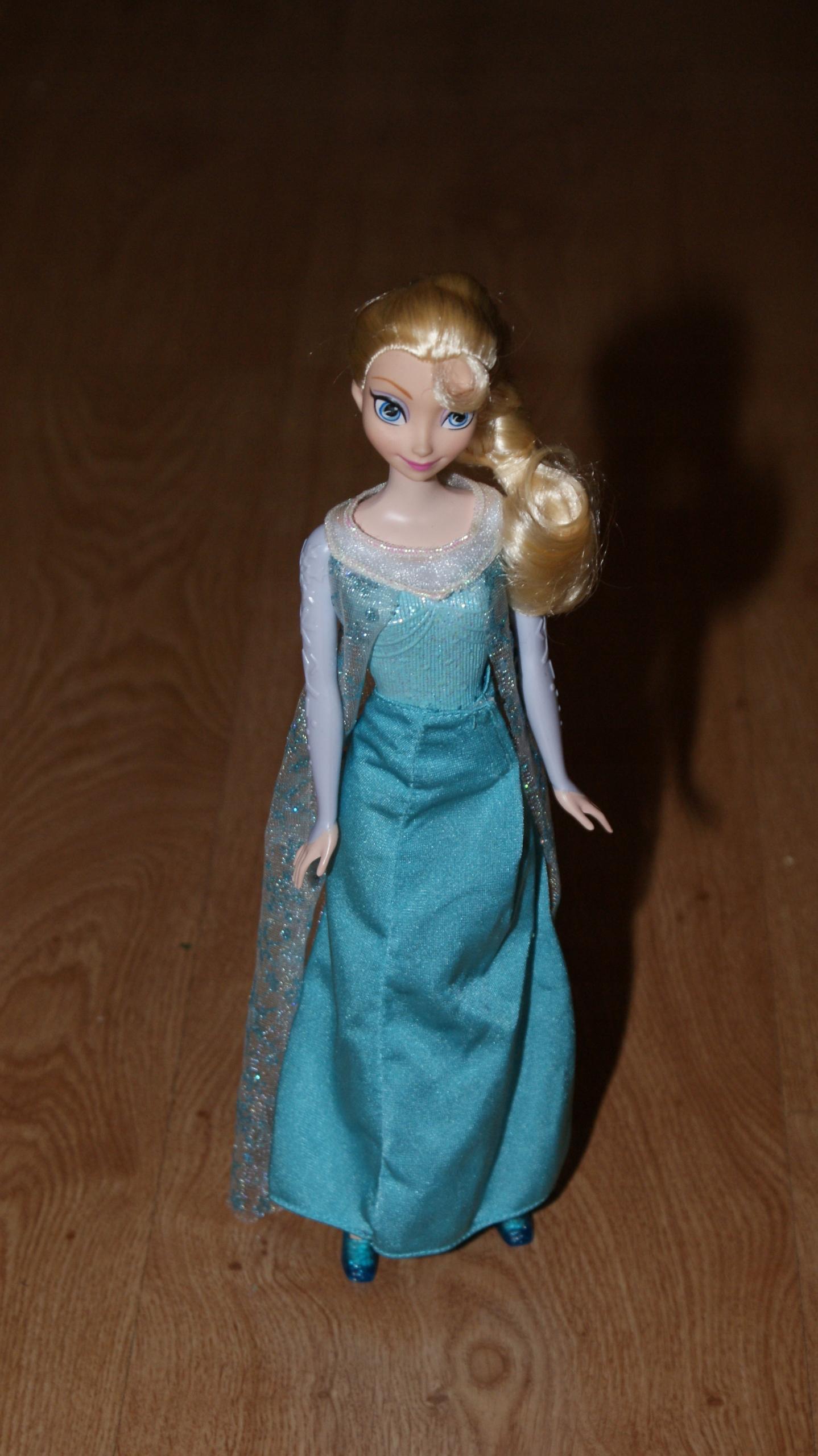 Kraina Lodu Frozen Elsa Elza lalka Mattel