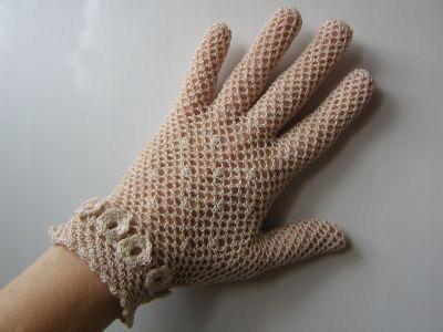 rękawiczki szydełkowe koronkowe śliczne, na miarę!