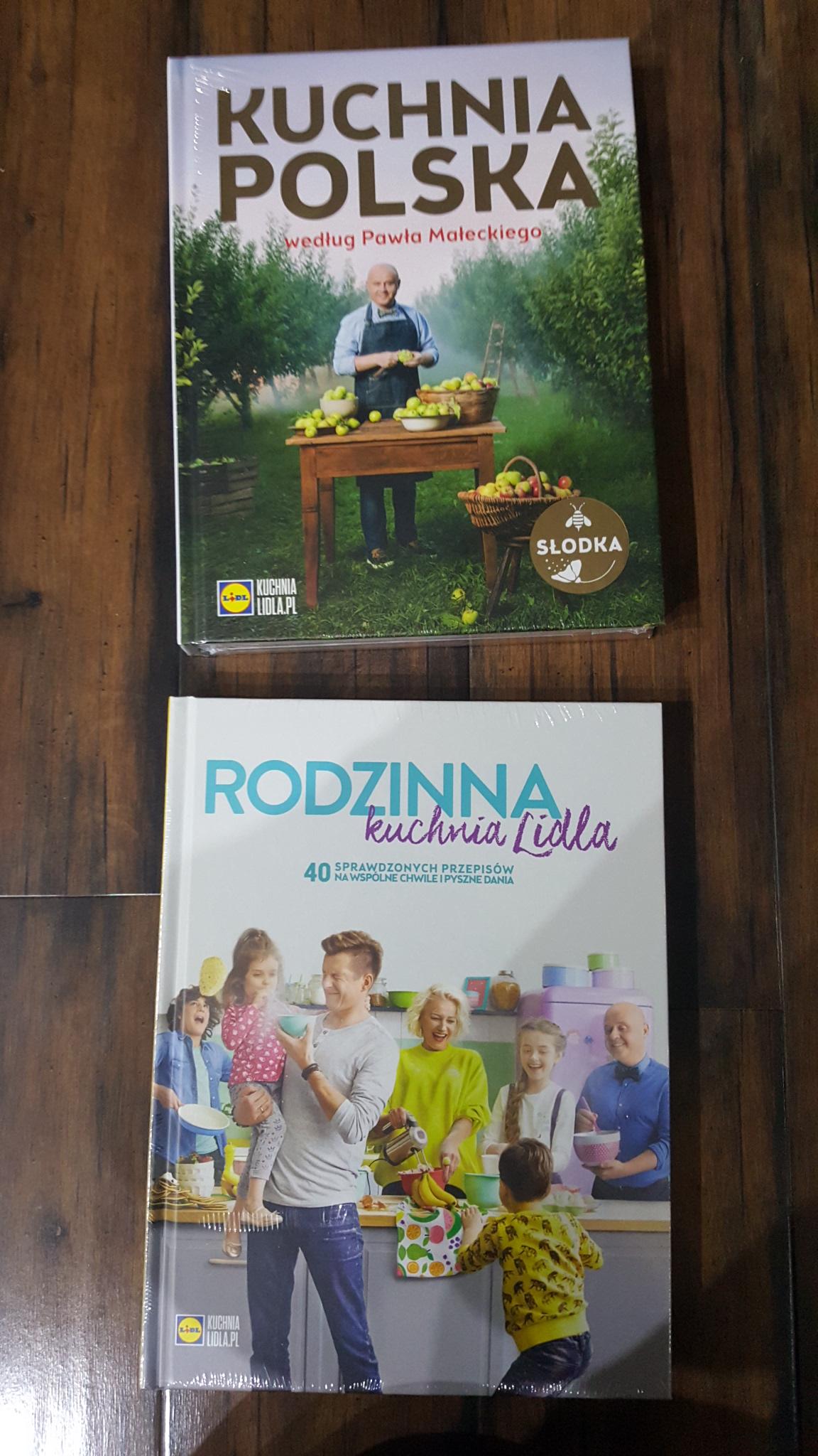 Książka Lidl Kuchnia Polska Słodkarodzinna Lidla