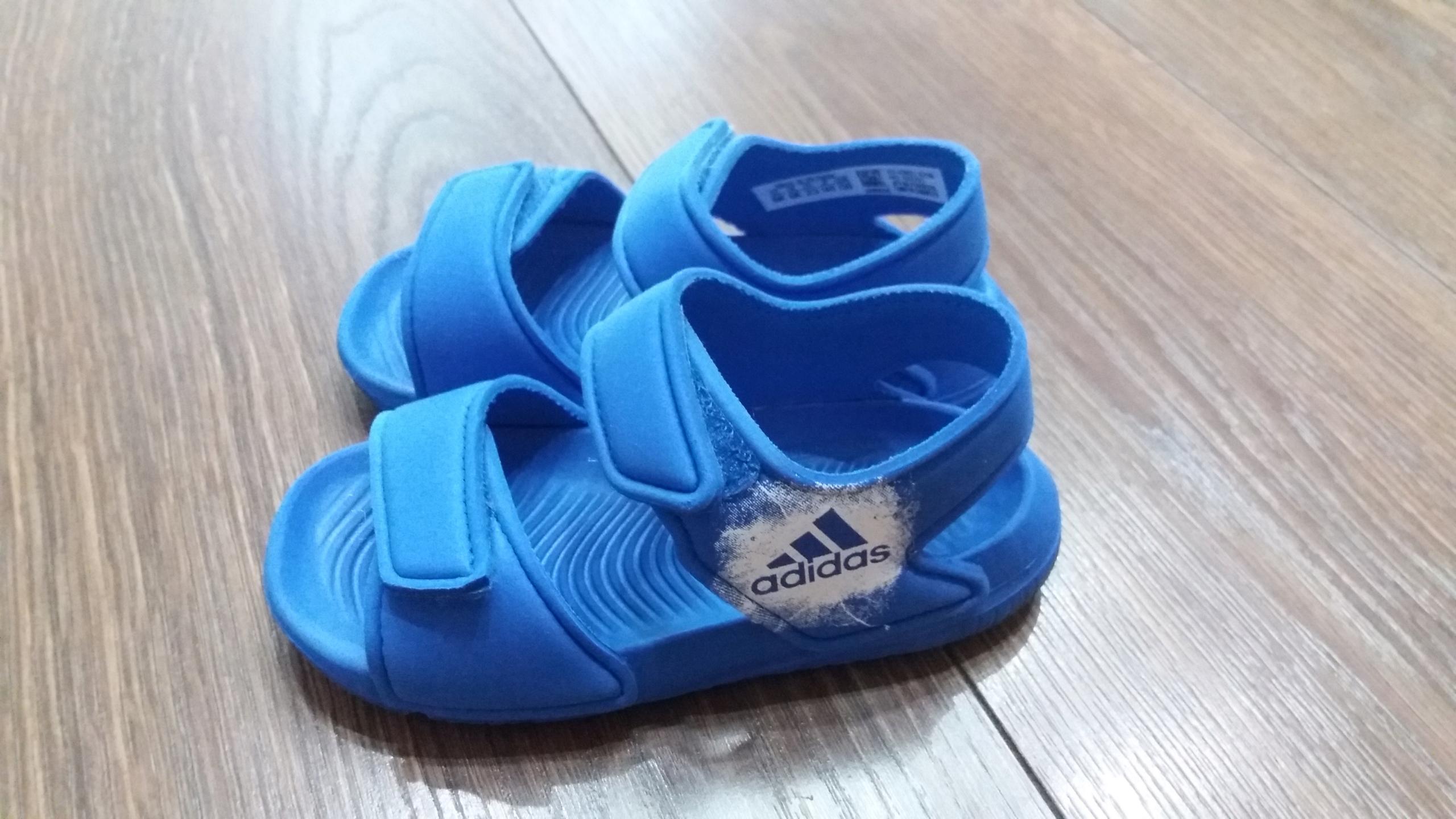Sandałki Adidas rozmiar 23 wkładka 14 cm