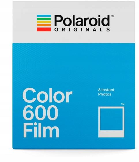 Polaroid Color 600 Film - Kolorowe wkady - 8 szt d