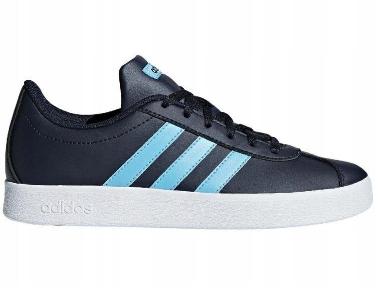 Buty młodzieżowe adidas VL Court B75697 39 1/3