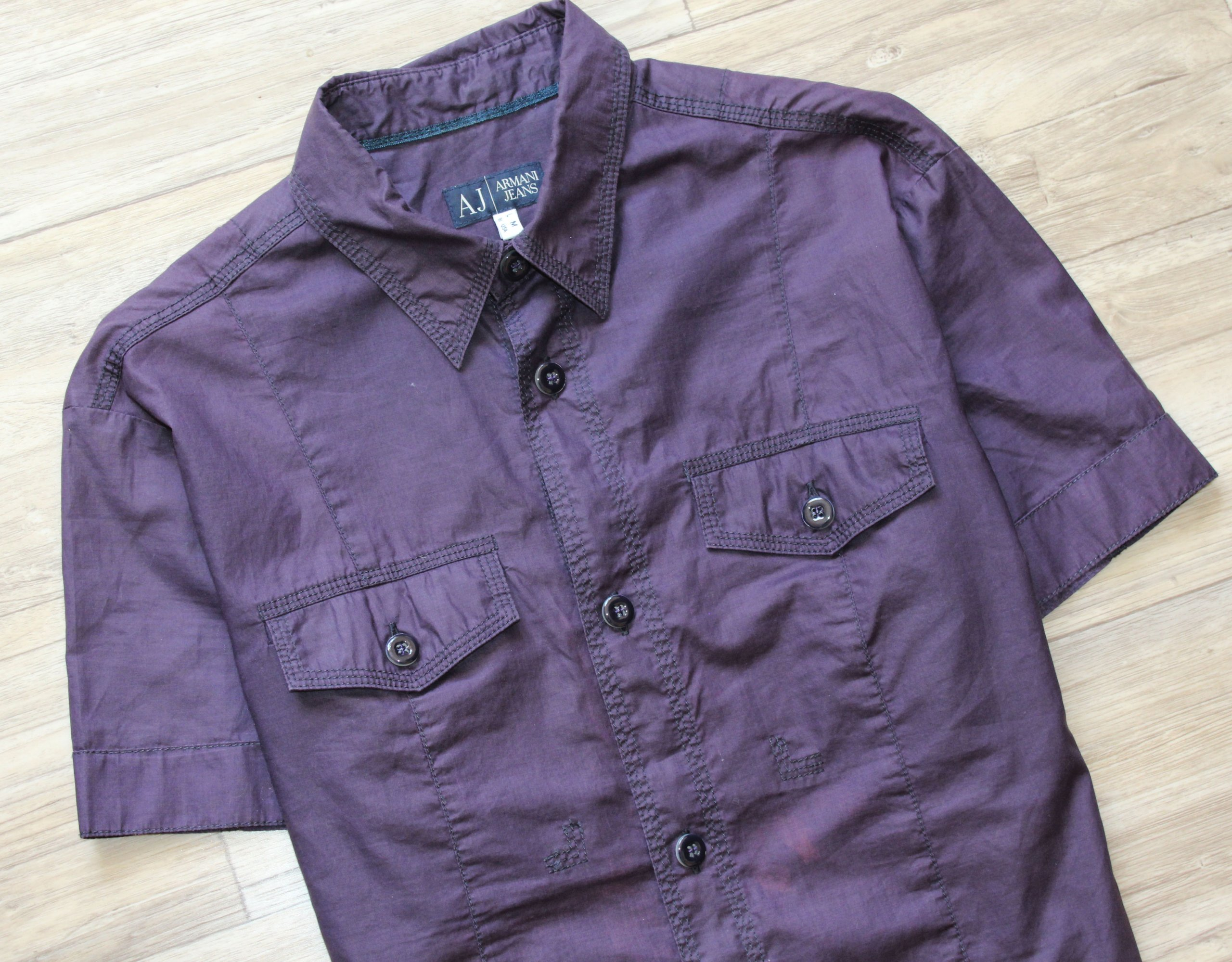 Koszula Armani Jeans logowana M oryginał