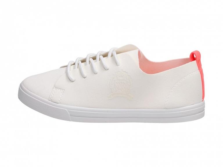 Białe tenisówki damskie sznurowane VICES D03 r36