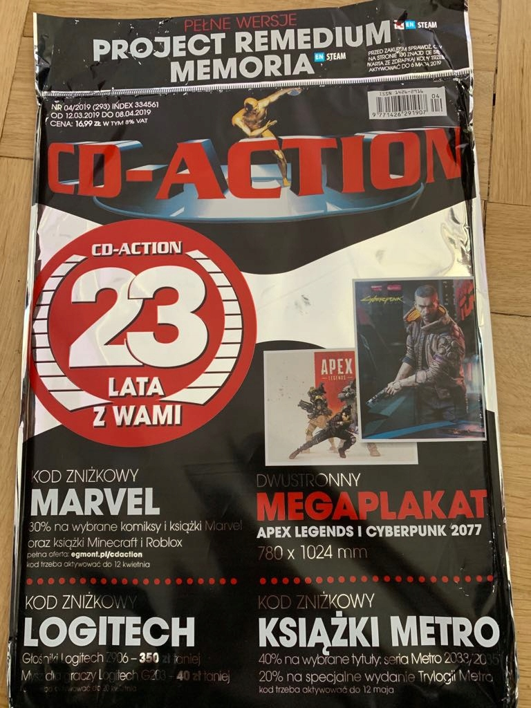 3c890698837e15 Cd-action 4/2019 + plakat + project medium - 7935024003 - oficjalne ...