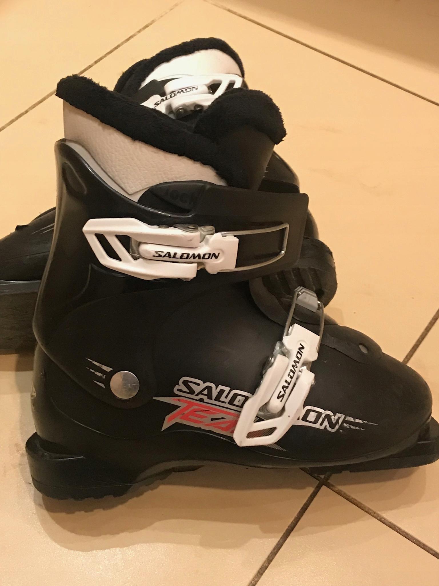 Buty narciarskie Salomin Team 21,5 Prywatnie
