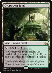 Overgrown Tomb - Guilds of Ravnica