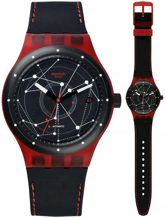 Swatch zegarek Sistem 51 Red