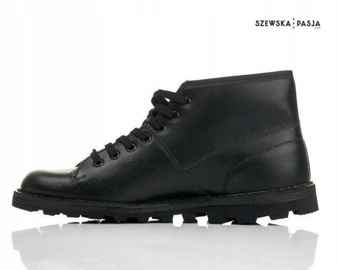 Czarne klasyczne buty męskie retro MONKEY SHOES Ceny i
