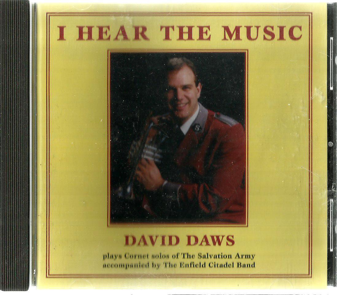 DAVID DAWS I HEAR THE MUSIC CD