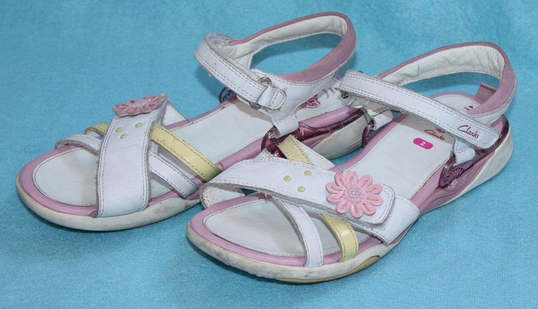 Clarks sandałki Daisy r. 34 UK 2 SUPER