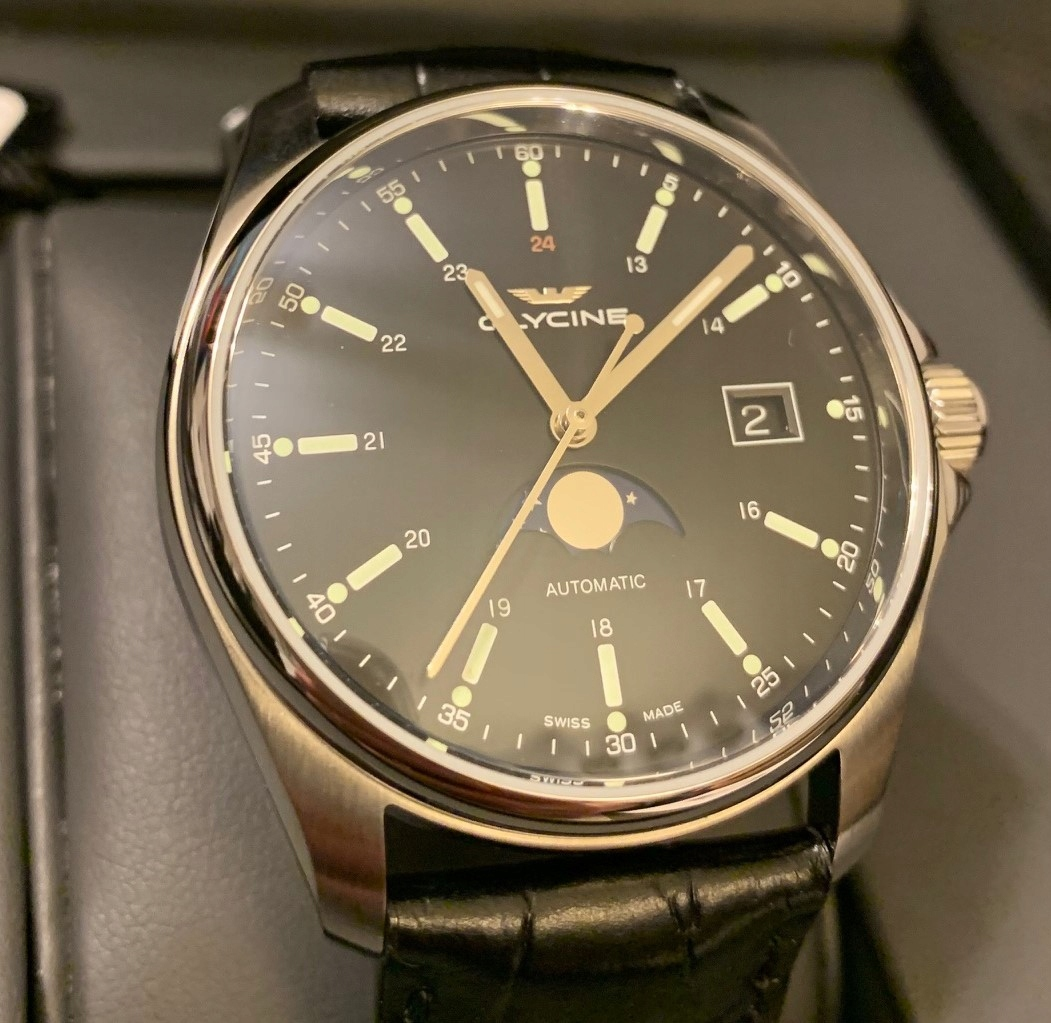 Nowy Glycine Combat Classic 40 Moonphase GL0116