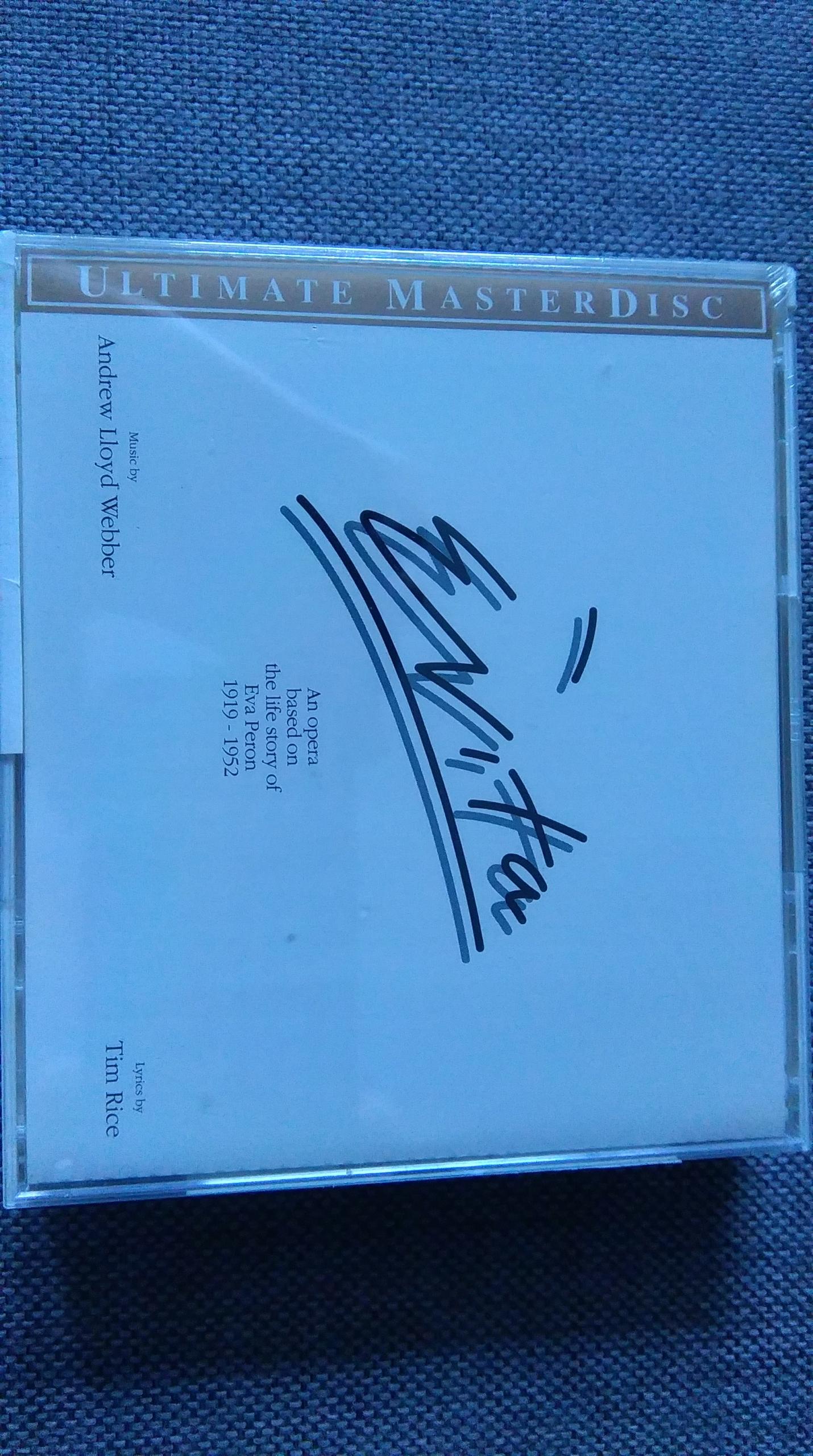 Andrew Lloyd Webber -Evita 2cd Gold MCA Masterdisc