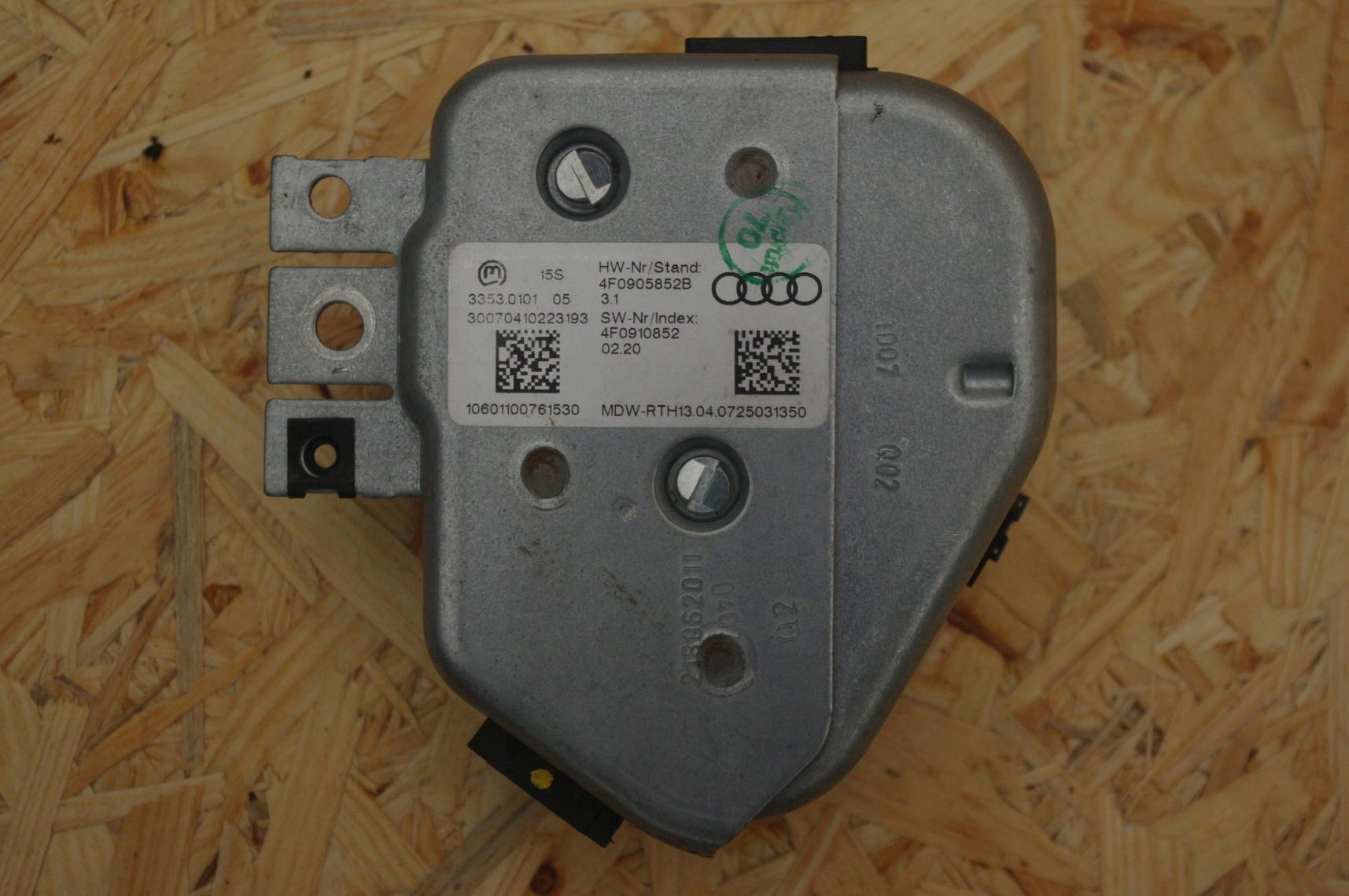 BLOKADA KIEROWNICY AUDI A6 C6 Q7 2.0TDI 4F0905852B