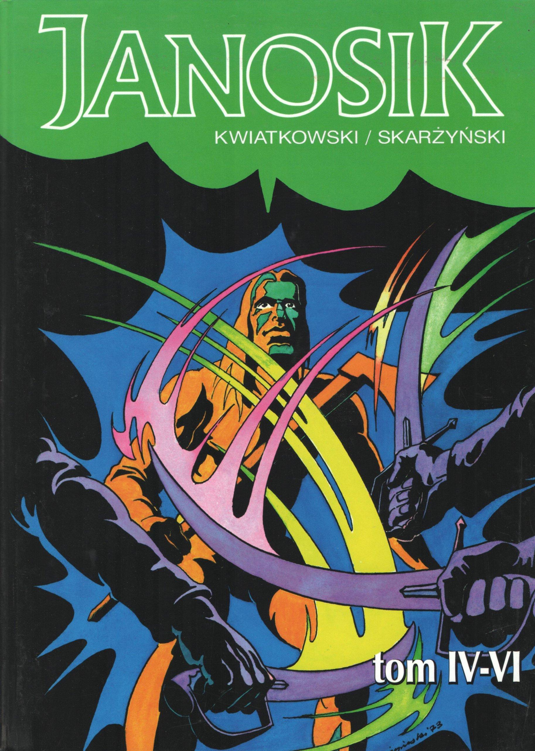 JANOSIK tom 4 - 6 komiks
