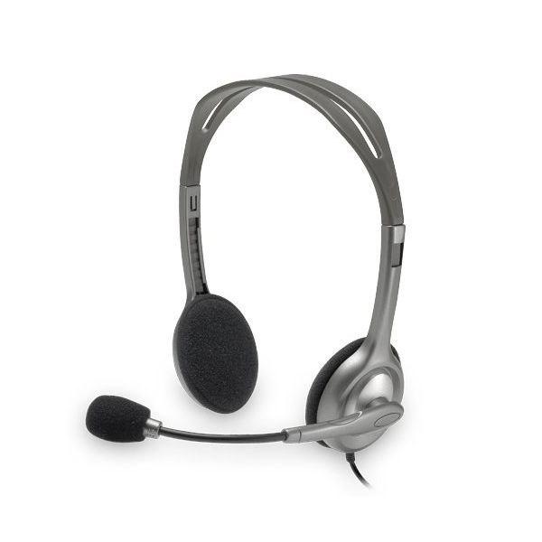 Słuchawki z Mikrofonem Logitech H110 2 x Jack 1,4