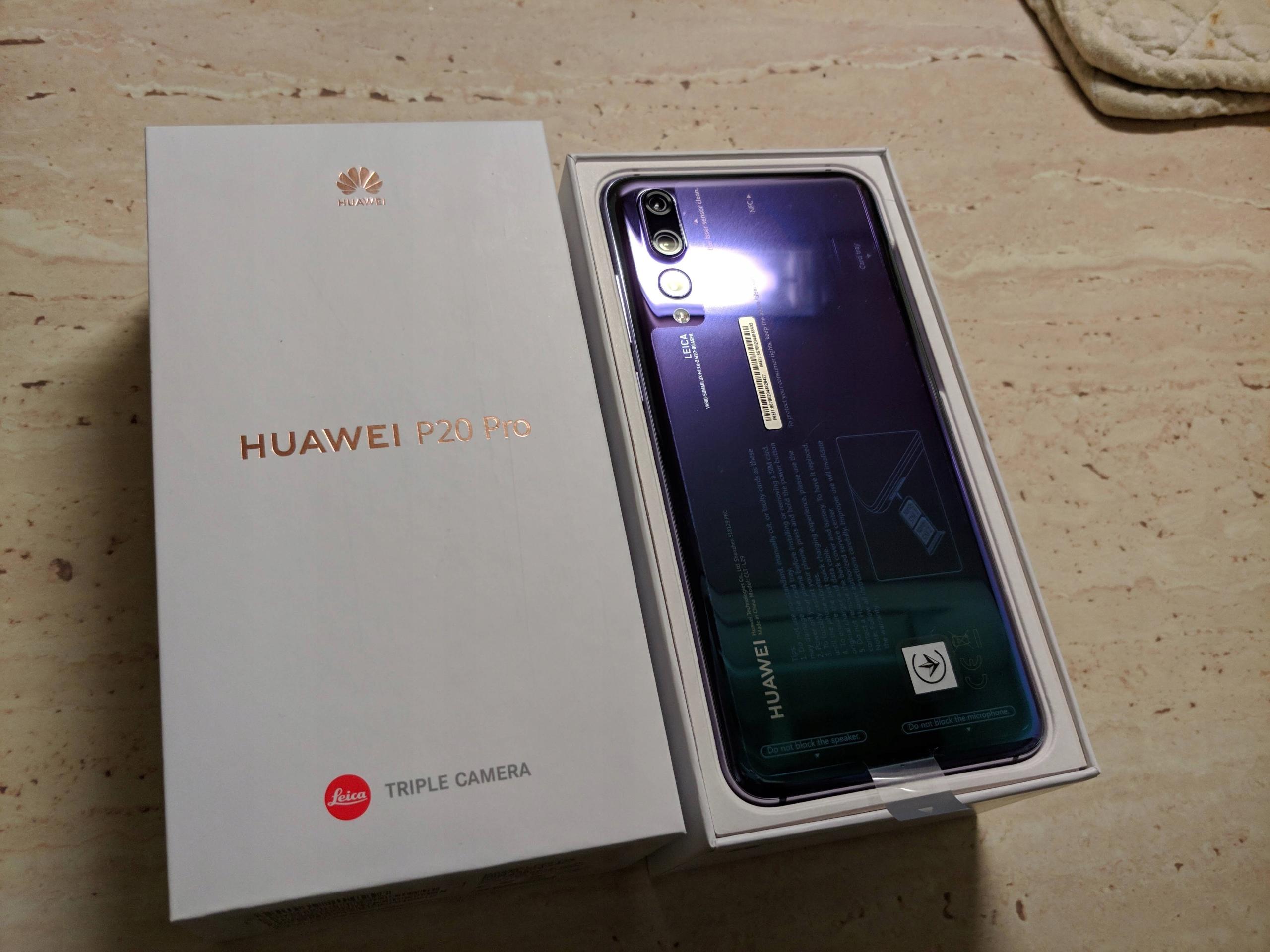 Huawei P20 PRO Twilight stan perfekt Play gratisy