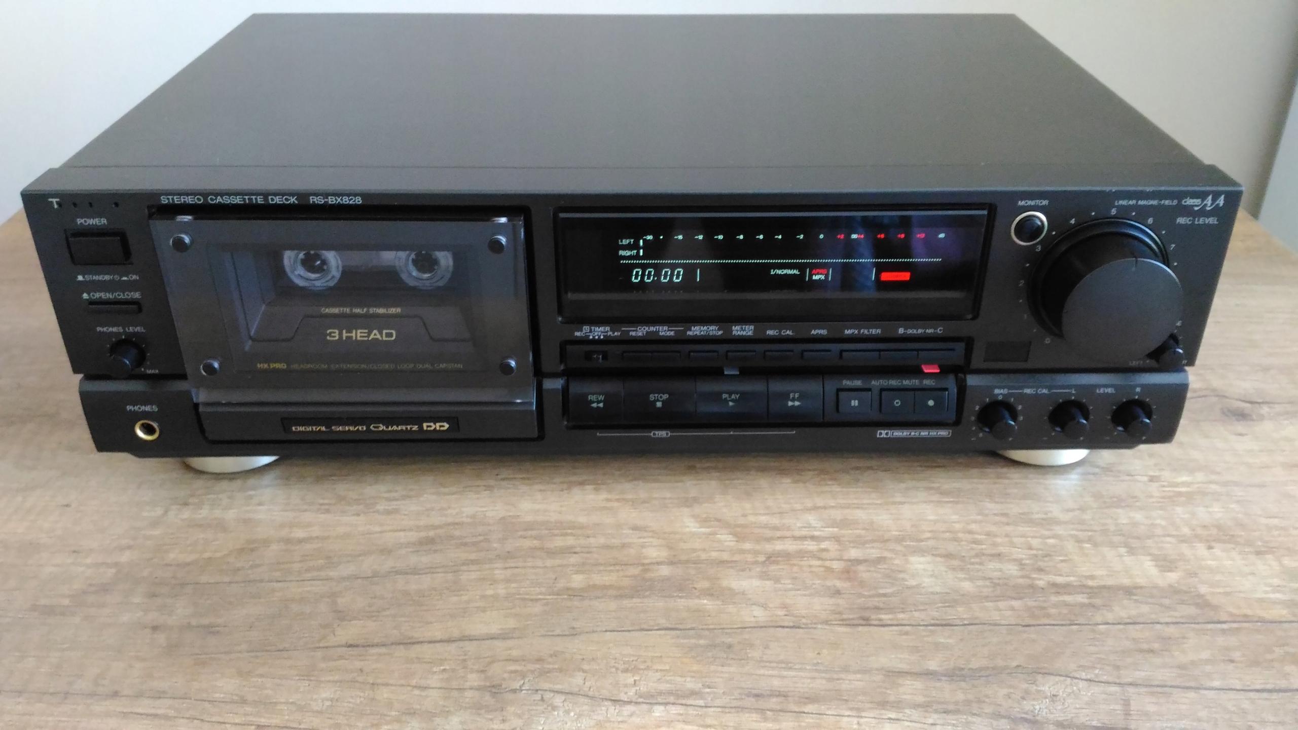 Magnetofon Cassette Deck Technics RS-BX828