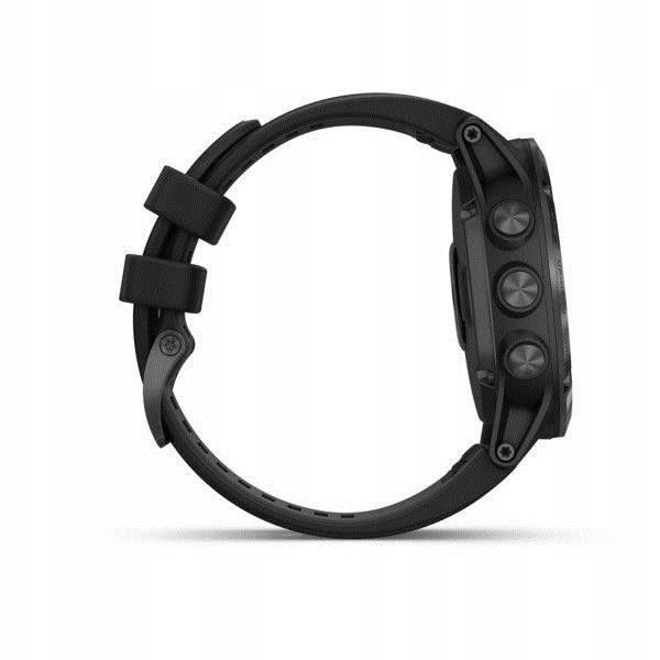 Zegarek sportowy Garmin Fenix 5X Plus kolor czarny