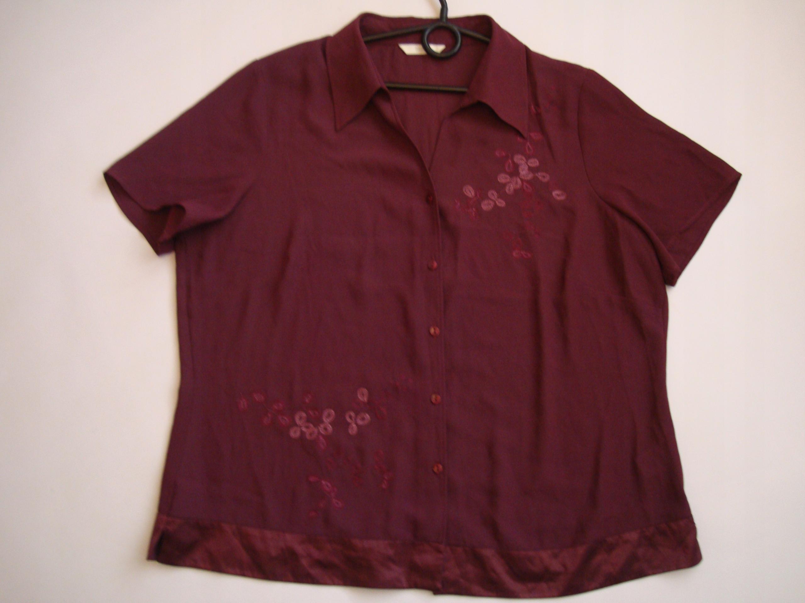 ELEGANCKA bluzka hafty MARKS&SPENCER r.44