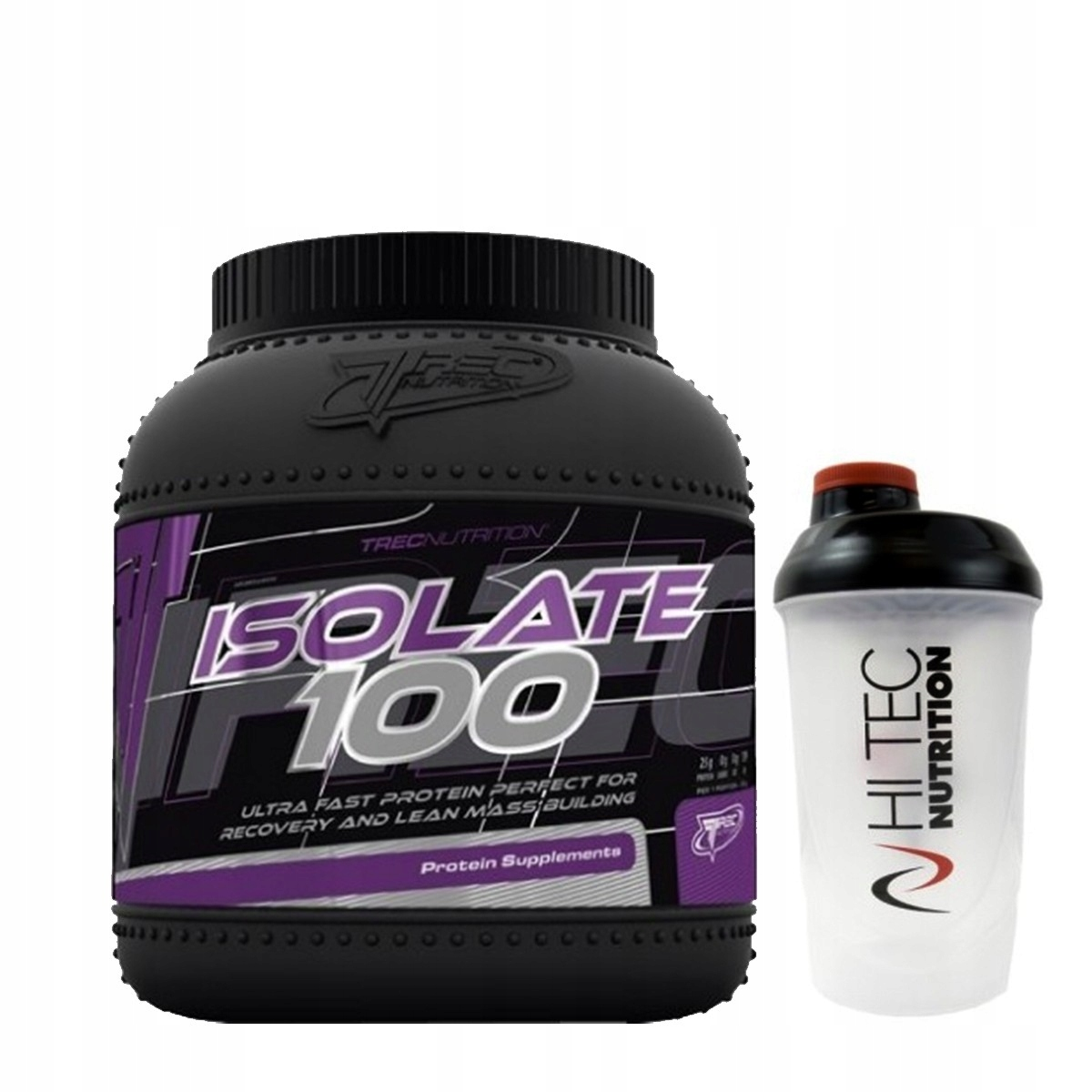 Trec ISOLATE 100 1800g + SHAKER 600ml Czekolada
