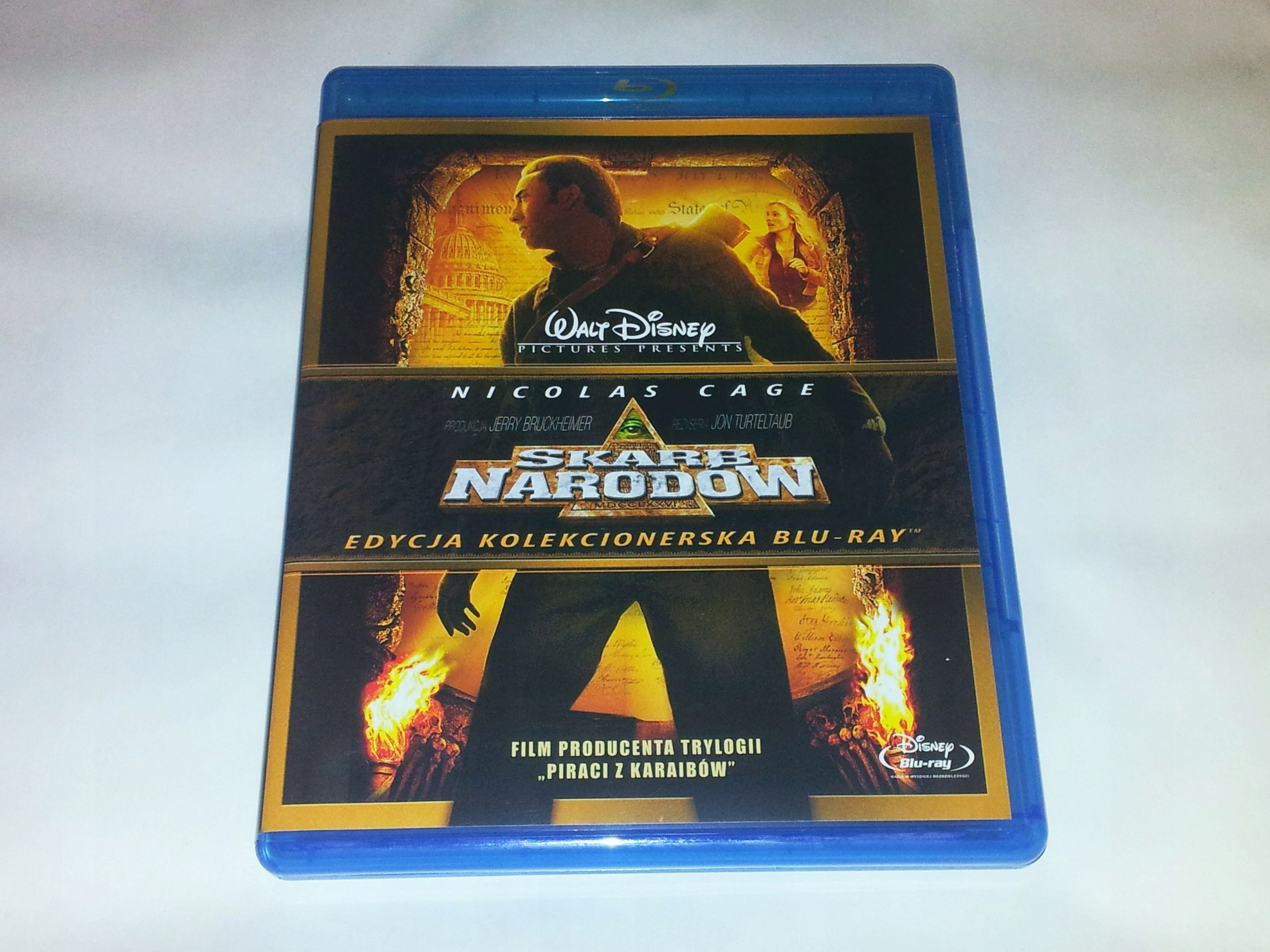 Skarb Narodów - Blu-ray - Lektor PL - Nicolas Cage
