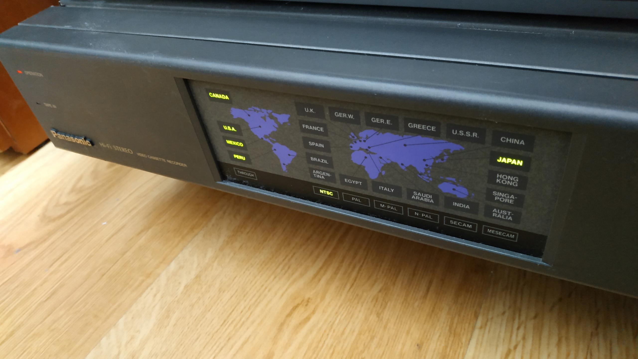 Panasonic NV-W1 - multisystem PAL-NTSC-SECAM