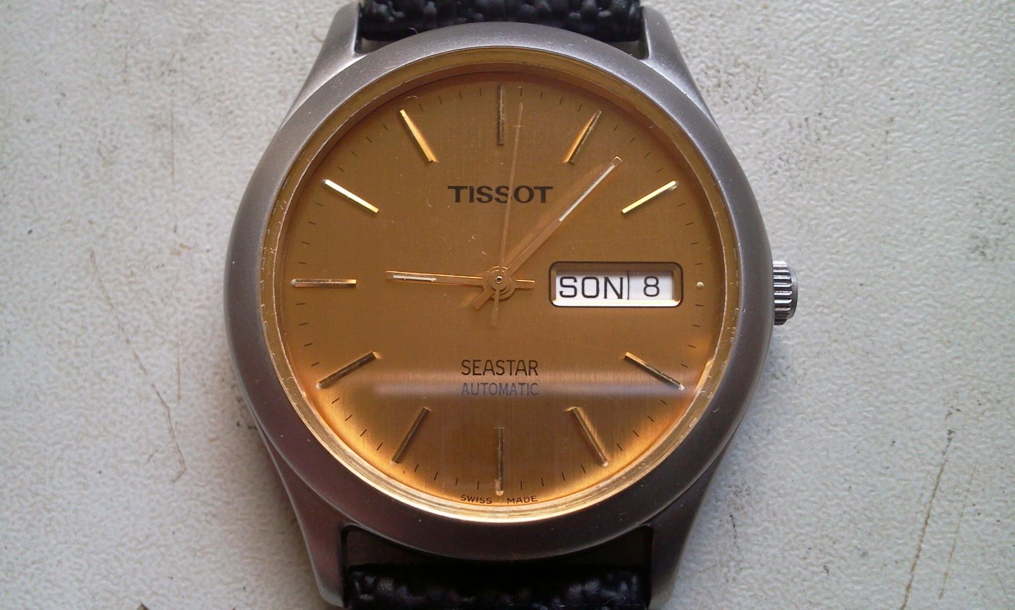 TISSOT - automat - zegarek ETA 2824