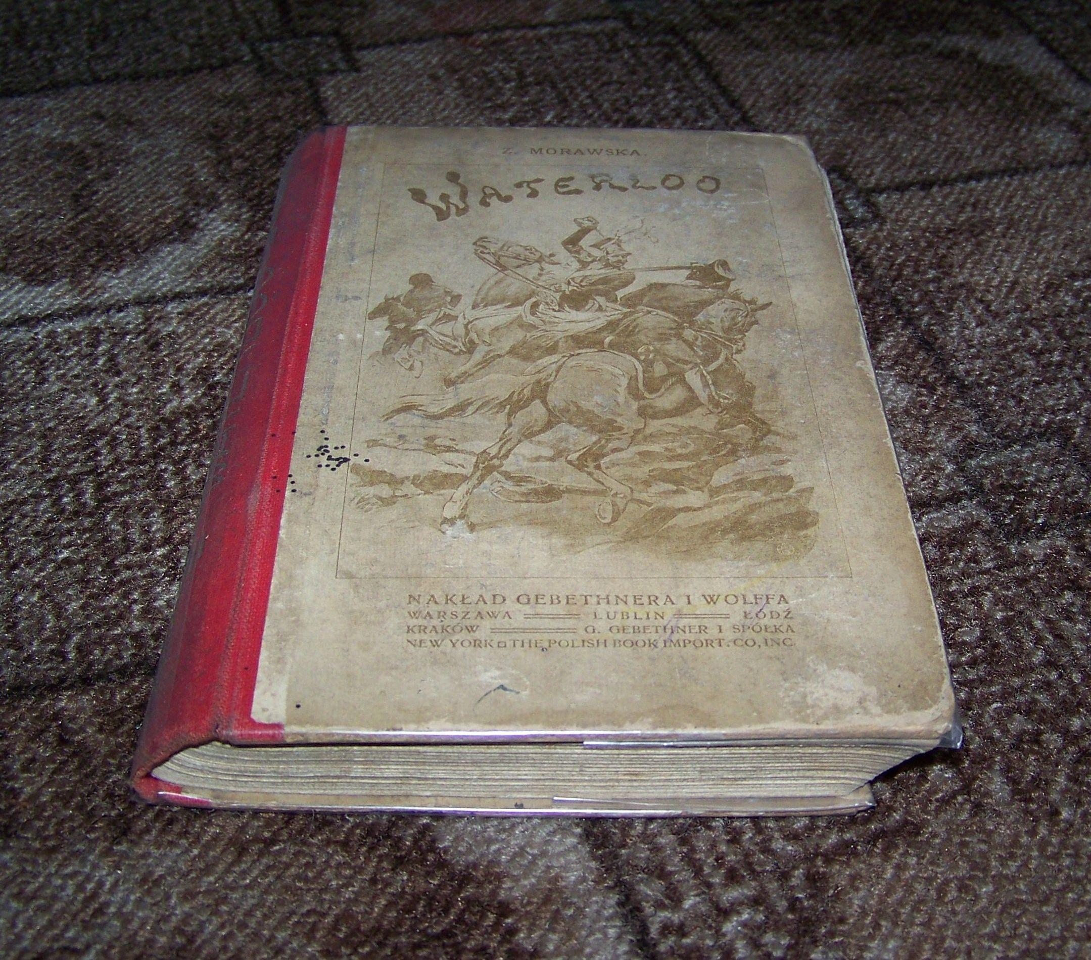MORAWSKA - WATERLOO - 1814 - Bagieński - 1914 rok