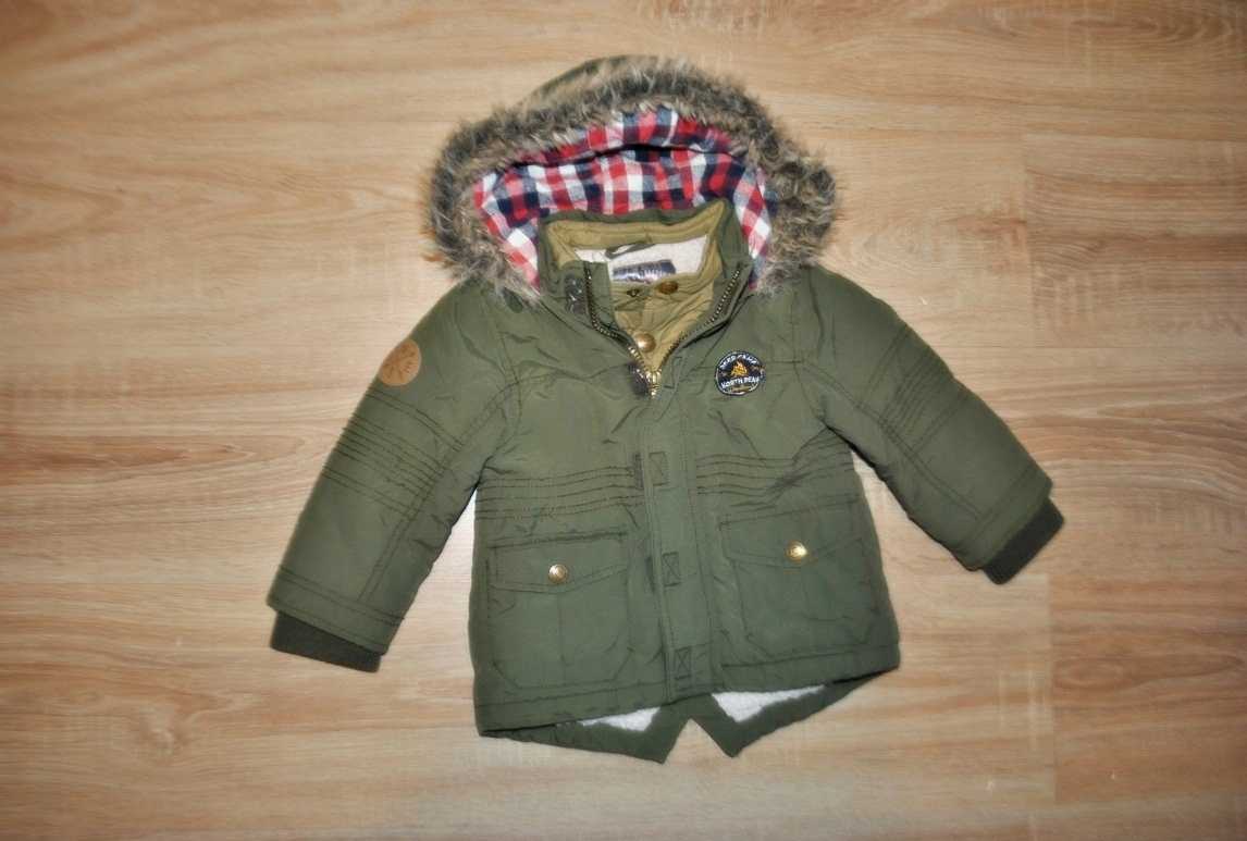 F&F świetna kurtka PARKA 92