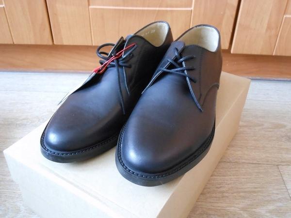 WOJAS buty wizytowe czarne skórzane rozmiar 42