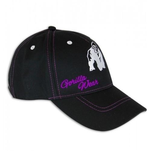GORILLA WEAR Lady Logo czapka z daszkiem BLACK