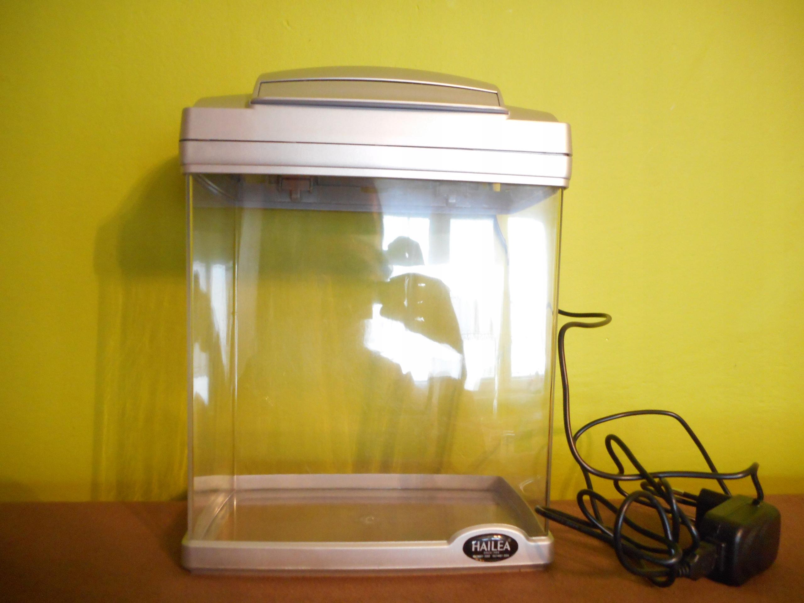 Akwarium HAILEA silver 6l HAILEA FC200 LED