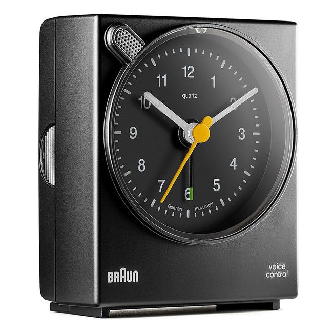 Zegarek budzik BRAUN BNC004 aktywacja głosem