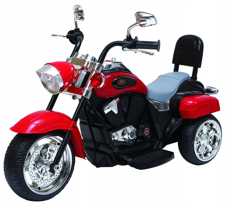 DUZY MOTOR MOTOREK HARLEY CHOPPER NA AKUMULATOR