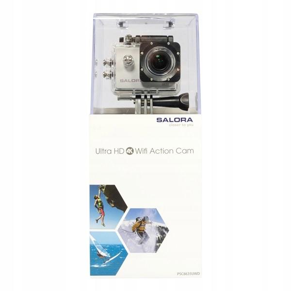 Kamera sportowa Ultra HD 4K WiFi Salora 8635