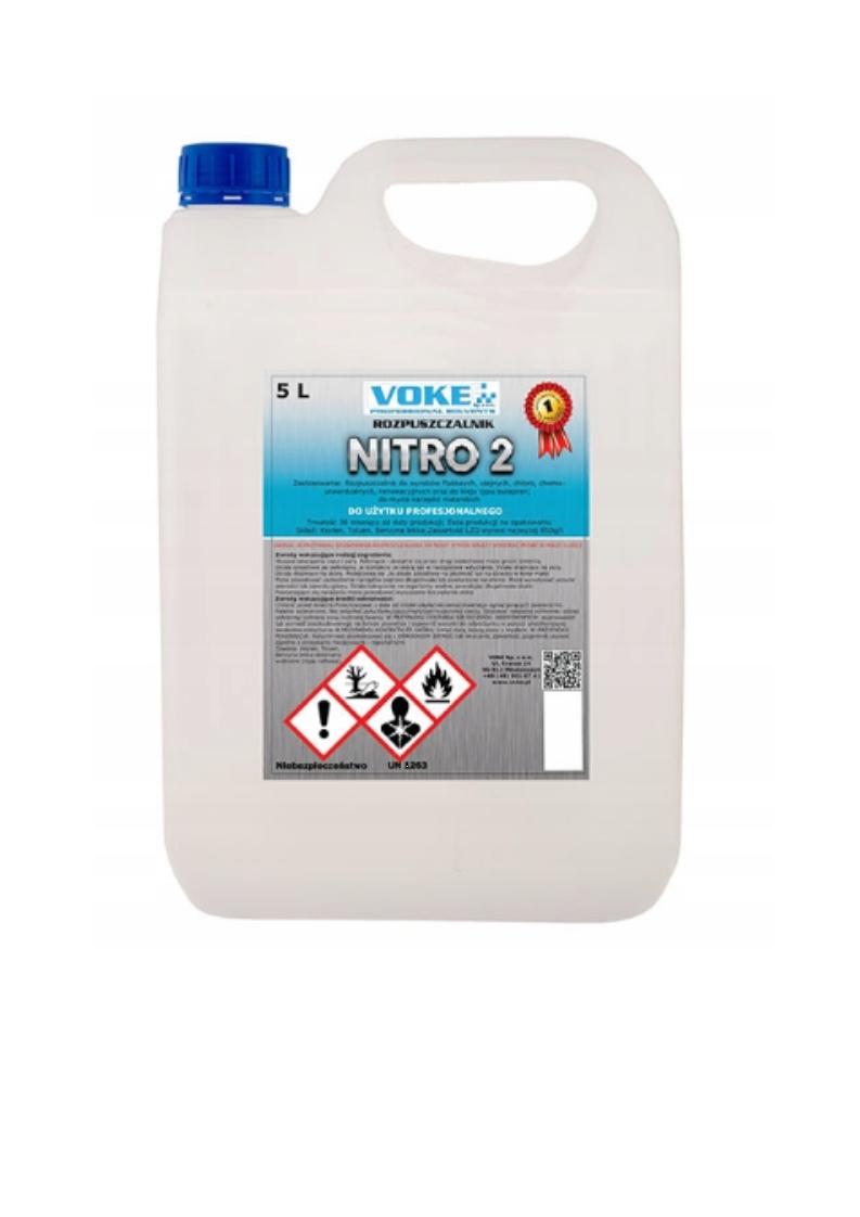 Rozpuszczalnik rozcieńczalnik NITRO2 5L VOKE