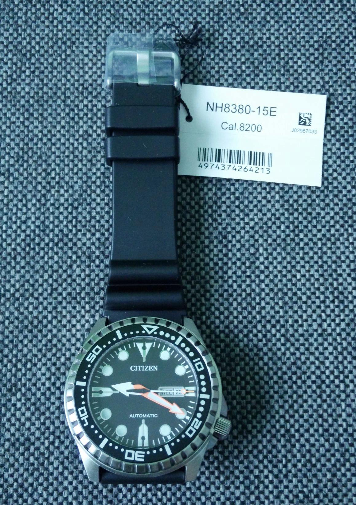 NOWY zegarek Citizen NH8380 Automat